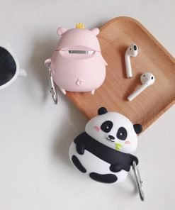 Cute Pudgy Rich Pig Premium AirPods Case Shock Proof Cover