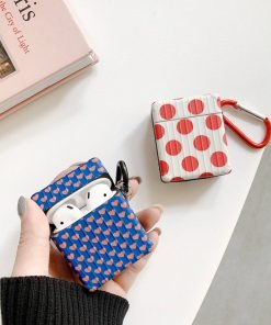 Red Polka Dots AirPods Case Shock Proof Cover