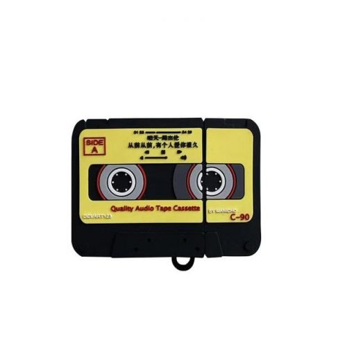 Japanese Vintage Cassette Tape Premium AirPods Case Shock Proof Cover