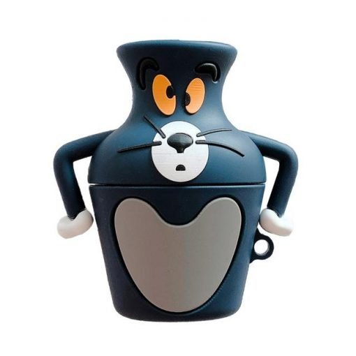 Tom and Jerry 'Tom in a Vase' Premium AirPods Case Shock Proof Cover