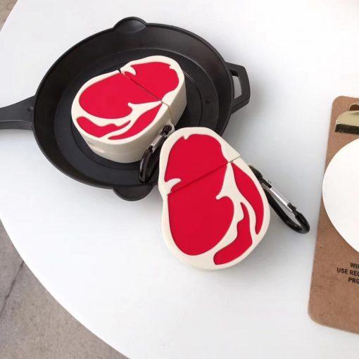 Steak 'Ribeye' Premium AirPods Case Shock Proof Cover
