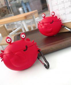 Smirky Crab Premium AirPods Case Shock Proof Cover