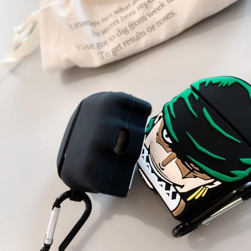 One Piece 'Roronoa Zoro' Premium AirPods Case Shock Proof Cover