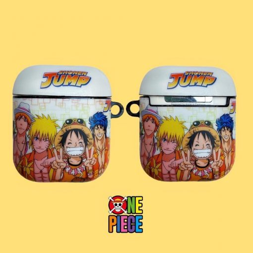 One Piece 'The Crew' Premium AirPods Case Shock Proof Cover