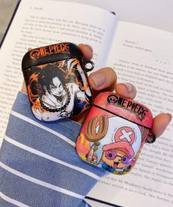One Piece 'Portgas D. Ace' AirPods Case Shock Proof Cover