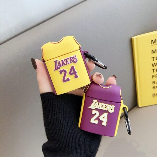 LA Lakers Jersey Premium AirPods Case Shock Proof Cover