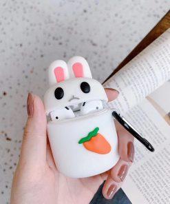 Unimpressed Bunny Premium AirPods Case Shock Proof Cover