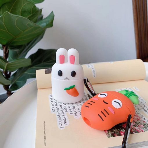 Cheeky Carrot Premium AirPods Case Shock Proof Cover