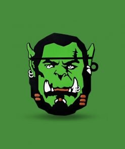 World of Warcraft   WOW 'Orc' Premium AirPods Case Shock Proof Cover