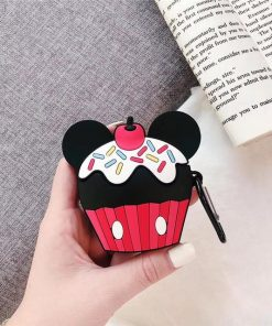 Mickey Mouse Cupcake Premium AirPods Case Shock Proof Cover