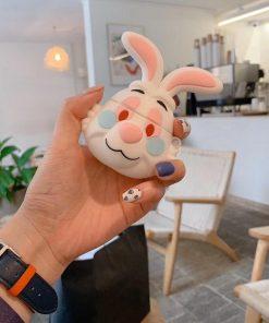 Alice in Wonderland 'White Rabbit' Premium AirPods Case Shock Proof Cover