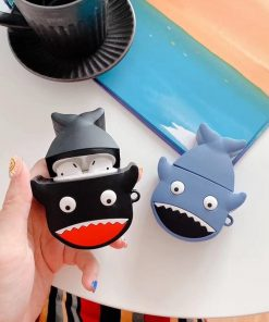 Excited Shark Premium AirPods Case Shock Proof Cover