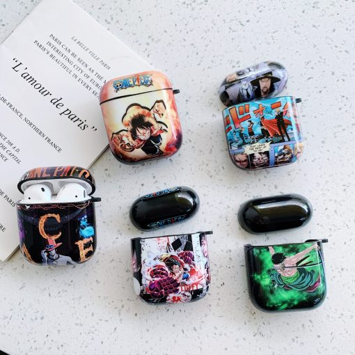 One Piece 'Luffy Attack' AirPods Case Shock Proof Cover