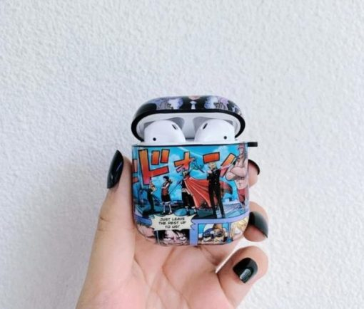 One Piece 'Comic' AirPods Case Shock Proof Cover
