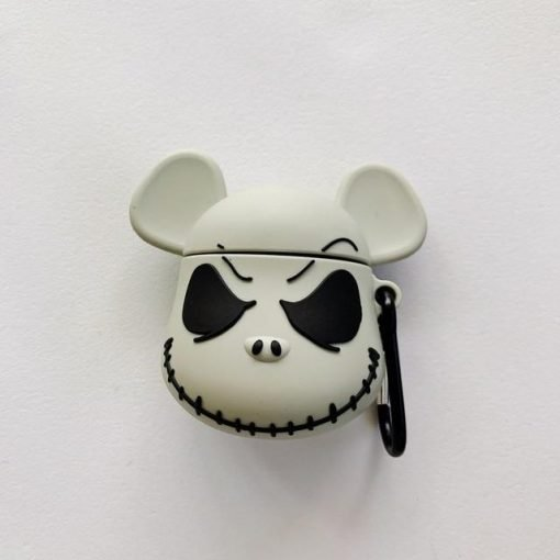The Nightmare Before Christmas 'Jack Skellington   Mickey Mouse' Premium AirPods Case Shock Proof Cover