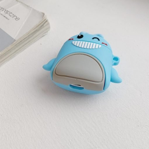 Happy Winking Whale Premium AirPods Case Shock Proof Cover