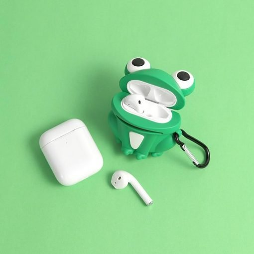 Worried Frog Premium AirPods Case Shock Proof Cover