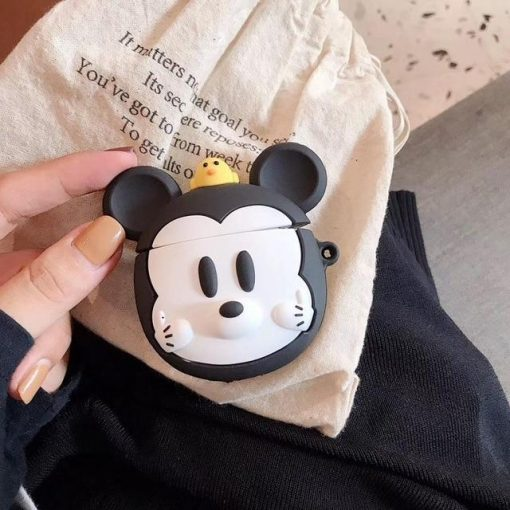 Mickey Mouse 'Steamboat Willy' Premium AirPods Case Shock Proof Cover