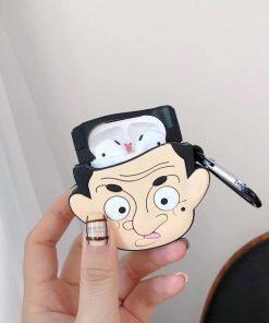 Mr. Bean Premium AirPods Case Shock Proof Cover
