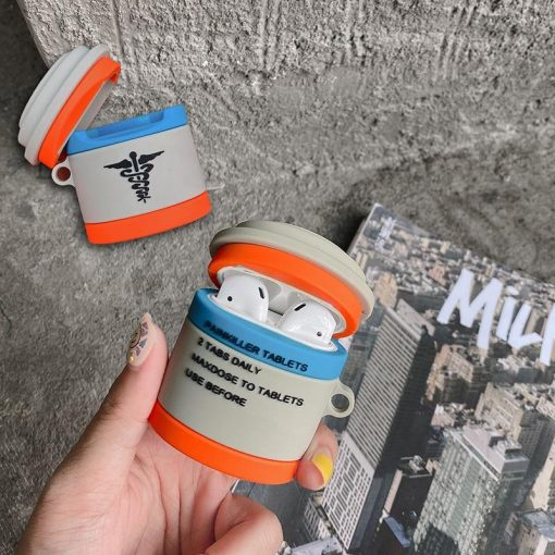 PUBG Painkillers Premium AirPods Case Shock Proof Cover