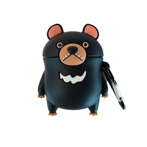 Black Bear Premium AirPods Case Shock Proof Cover