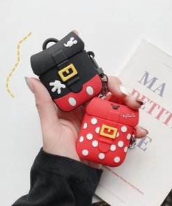 Cute Minnie Mouse Backpack Premium AirPods Case Shock Proof Cover