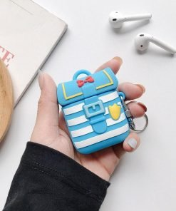 Cute Donald Duck Backpack Premium AirPods Case Shock Proof Cover