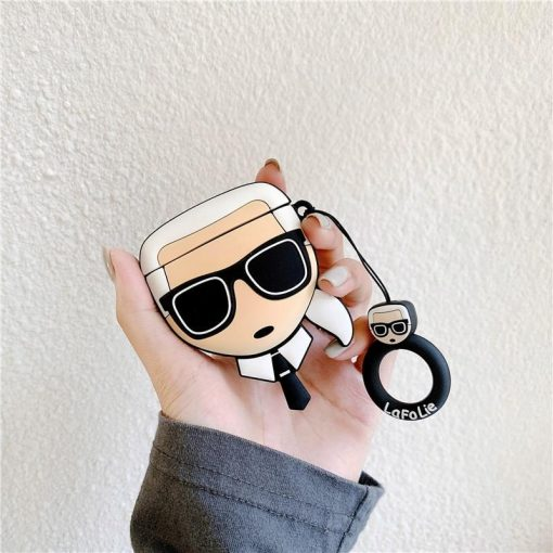 Karl Lagerfeld Premium AirPods Case Shock Proof Cover