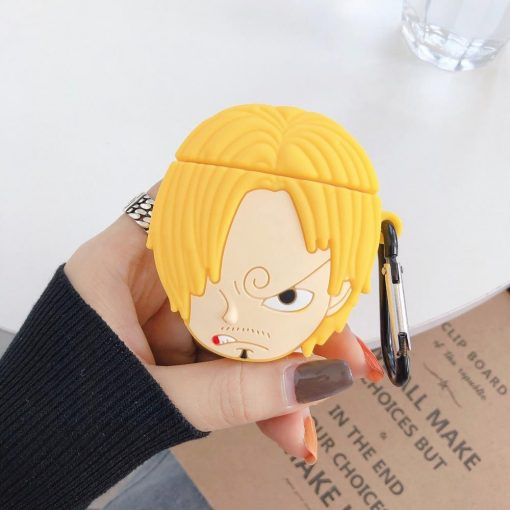 One Piece 'Sanji' Premium AirPods Case Shock Proof Cover