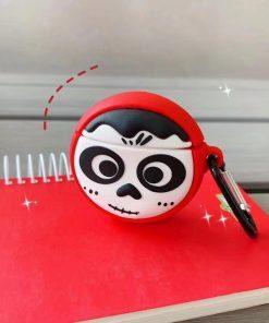 Sugar Skull Face Paint Premium AirPods Case Shock Proof Cover