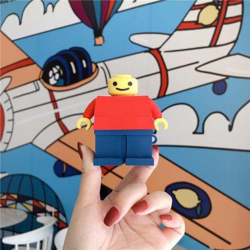 Lego Man Premium AirPods Case Shock Proof Cover