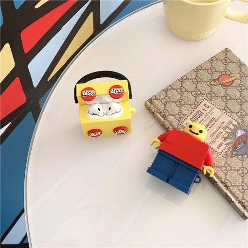 Lego Bucket Premium AirPods Case Shock Proof Cover