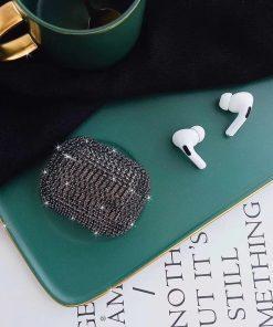 Glitter Rhinestone AirPods Pro Case Shock Proof Cover
