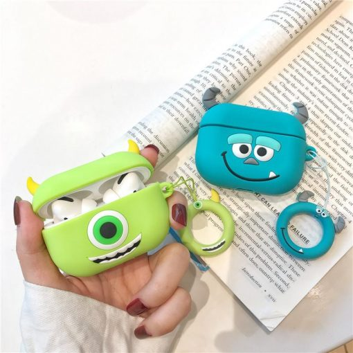 Monsters Inc. 'Mike Wizowski' Premium AirPods Pro Case Shock Proof Cover