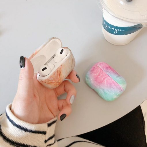 Marble AirPods Pro Case Shock Proof Cover