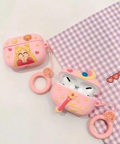 Sailor Moon 'Wand' Premium AirPods Pro Case Shock Proof Cover