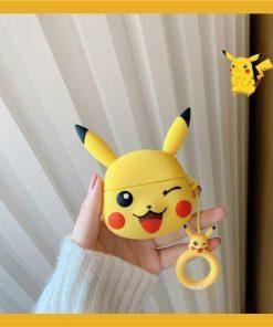 Pokemon 'Winking Pikachu' Premium AirPods Pro Case Shock Proof Cover