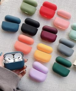 Candy Color AirPods Pro Silicone Case Shock Proof Cover