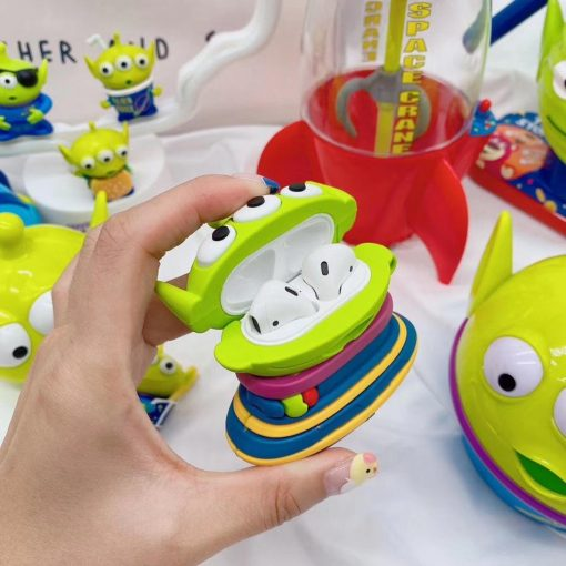 Toy Story 'Martian in a Spaceship' Premium AirPods Case Shock Proof Cover