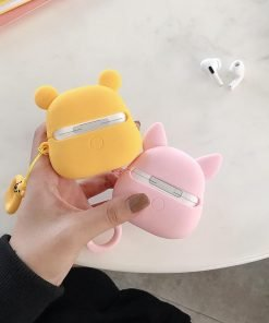 Winnie the Pooh 'Winking Pooh' Premium AirPods Pro Case Shock Proof Cover