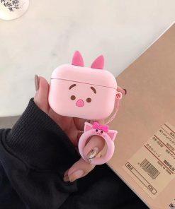 Winnie the Pooh 'Cute Piglet' Premium AirPods Pro Case Shock Proof Cover