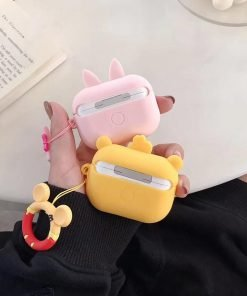 Winnie the Pooh 'Cute Bumblebee Pooh' Premium AirPods Pro Case Shock Proof Cover