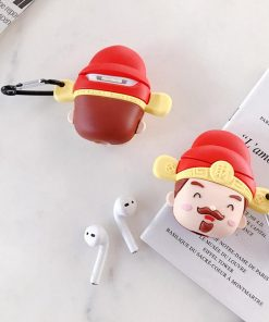 Cute Chinese New Year Charm Premium AirPods Case Shock Proof Cover