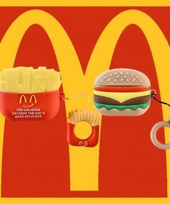 Cute McDonald's Burger Premium AirPods Pro Case Shock Proof Cover