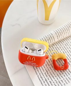 Cute McDonald's French Fries Premium AirPods Pro Case Shock Proof Cover