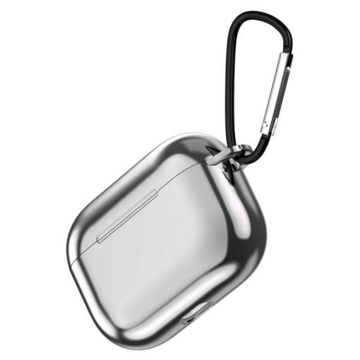 Plastic Metal TPU Plated AirPods Pro Case Shock Proof Cover