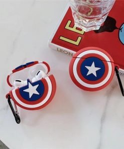Captain America Shield Premium AirPods Pro Case Shock Proof Cover
