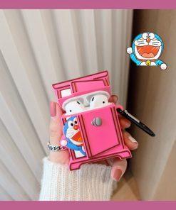 Doraemon 'Peekaboo' Premium AirPods Case Shock Proof Cover