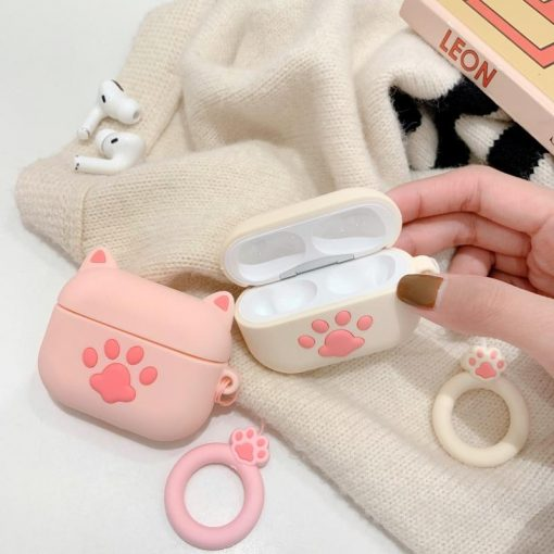 Kitty Ears AirPods Pro Case Shock Proof Cover