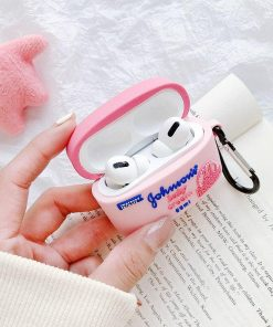 Johnson and Johnson Baby Power Premium AirPods Pro Case Shock Proof Cover